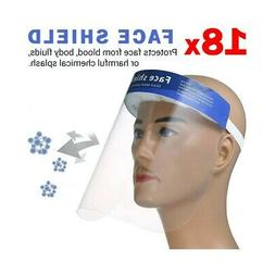 18X Visor IN Polycarbonate Clear Protection Face Screen Spla