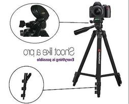 """AGFAPHOTO 50"""" Pro Tripod With Case For Sony DSC-RX100"""