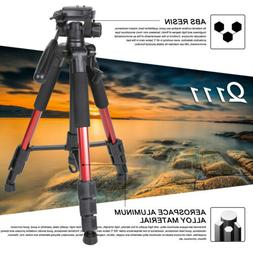 55 compact light weight travel portable tripod