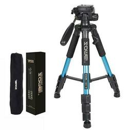 "55"" ZOMEI Professional Adjustable Height Photography Camera"