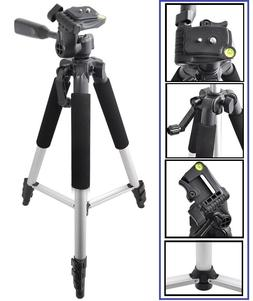 """Pro - Series 57"""" Tripod With Case For Sony HDR-CX455 HDR-CX6"""