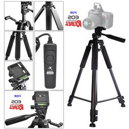 "60"" PROFESSIONAL TITANIUM ALLOY TRIPOD +WIRED REMOTE FOR CAN"