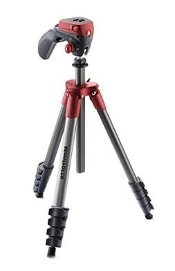 Manfrotto MKCOMPACTACN-RD Compact Action Tripod