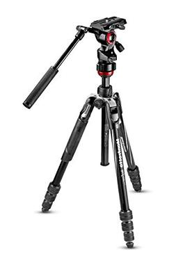 Manfrotto Travel Befree Live Aluminium Tripod Twist, Video H