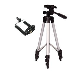Camera Tripod Lightweight Travel with Phone Holder and Carry