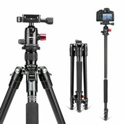 "Camera Tripod,ZOMEi M6 Aluminum Compact Tripod 63"" with Ball"