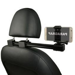 PARAGRAP Car Headrest Mount Smartphone Recording Video with