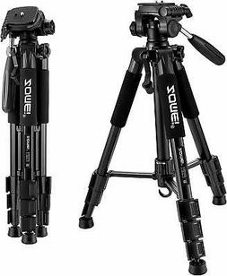 Compact Light Weight Travel Portable Aluminum Camera Tripod