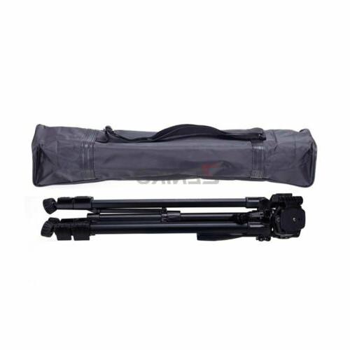 YUNTENG 590 Tripod with Damping Head for Canon Sony Samsung