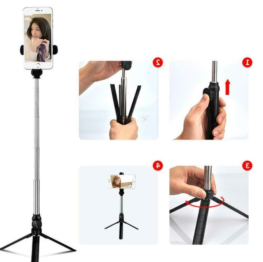 Extendable Wireless Selfie Stick For iPhone Bluetooth