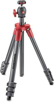 Manfrotto MKCOMPACTLT-RD Compact Tripod