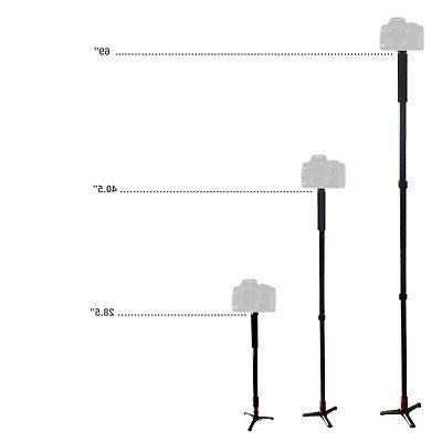 Monopod with Tripod for Camera DSLR Mount Stand