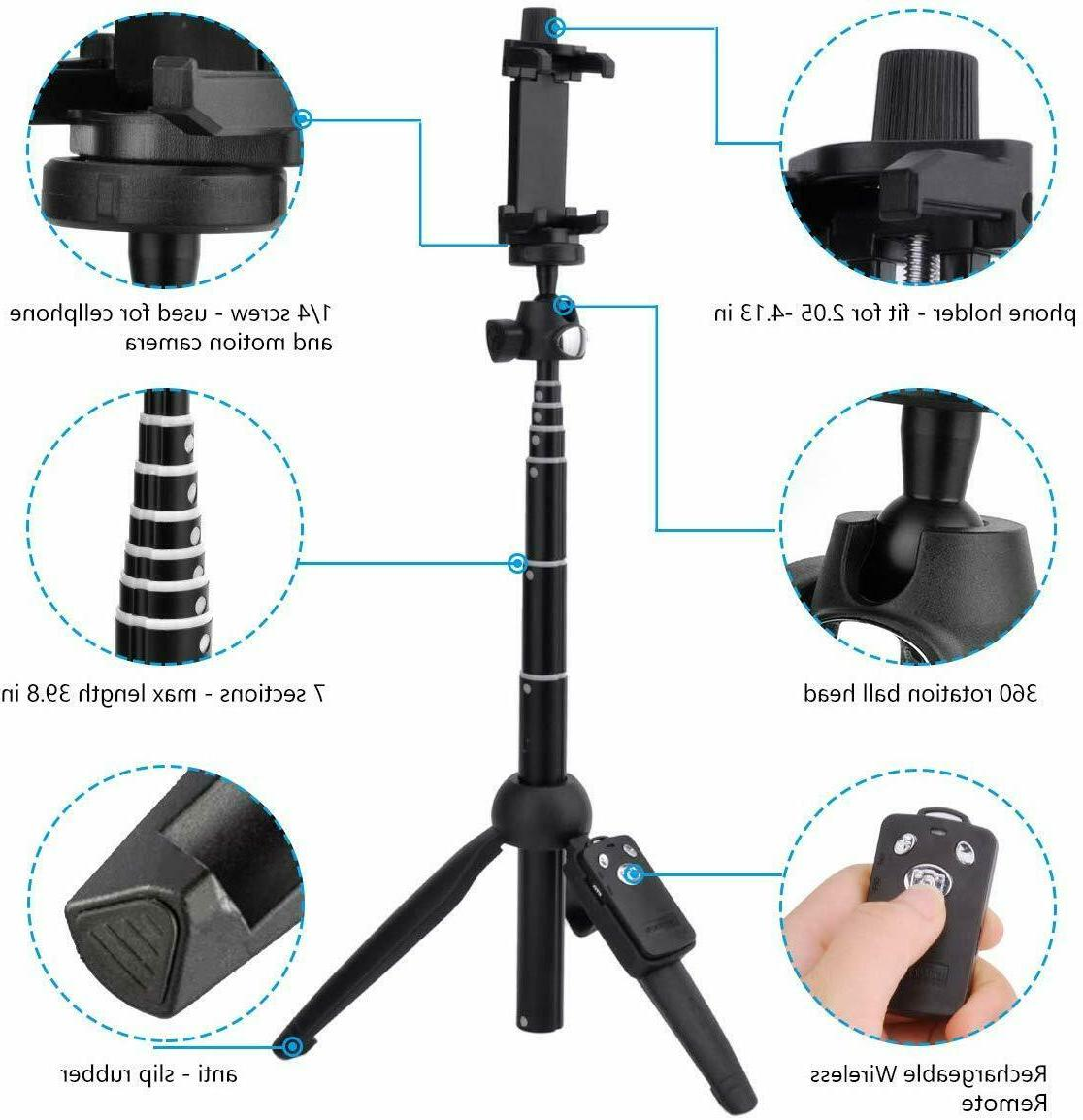 Selfie Tripod 40 Quality All-In-One Trip