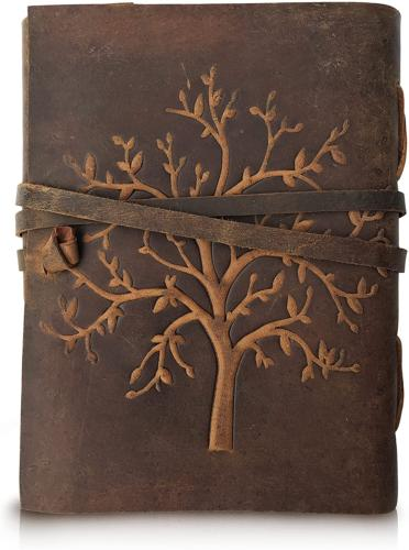 Life Leather Diary Blank Sketch Writing
