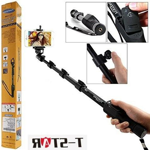 yt 1288 bluetooth remote shutter 3in1 self