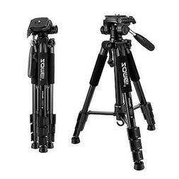 Professional Aluminum Mini Tripod w/ Pan Head Portable for C