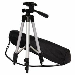 WEIFENG Professional Flexible Aluminum Tripod Black Kit for
