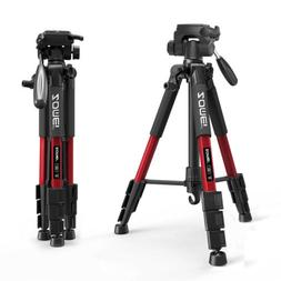 ZOMEI Q111 Pro Portable Aluminium Travel Tripod Pan Head Por