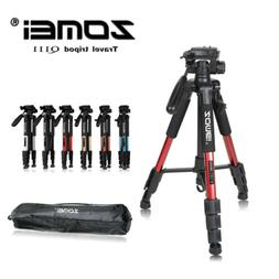ZOMEI Q111 Professional Travel Tripod&Pan Head Aluminum Port