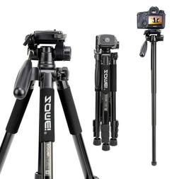 ZOMEI Light Weight Aluminum Tripod Monopod Travel For Canon