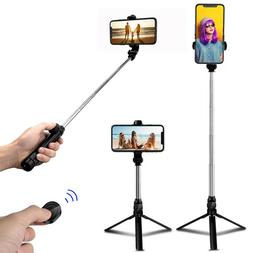 Selfie Stick Tripod Remote Desktop Stand Cell Phone Holder F